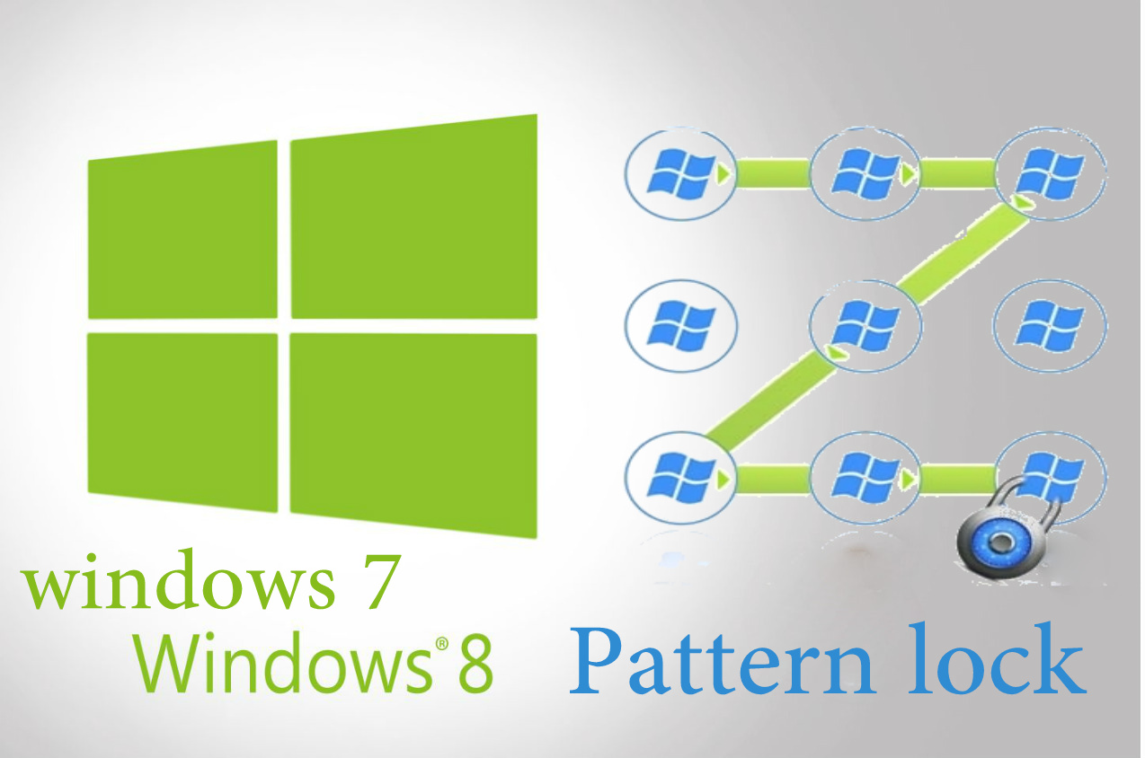 Tricker's World: How to Add Pattern Lock for Windows 7 and