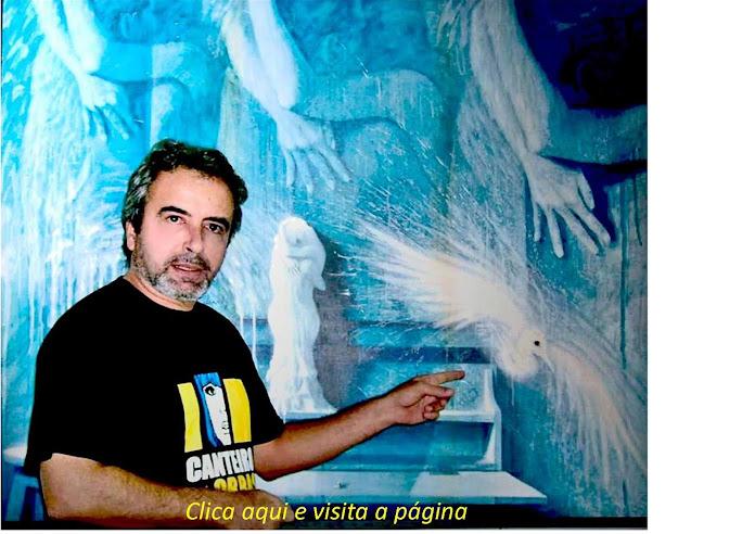 NO ATELIER DO ARTISTA (AGOSTO DE 2007)
