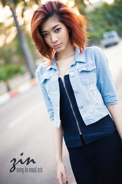 Thet Su Zin (Zin) - Myanmar Model Girls