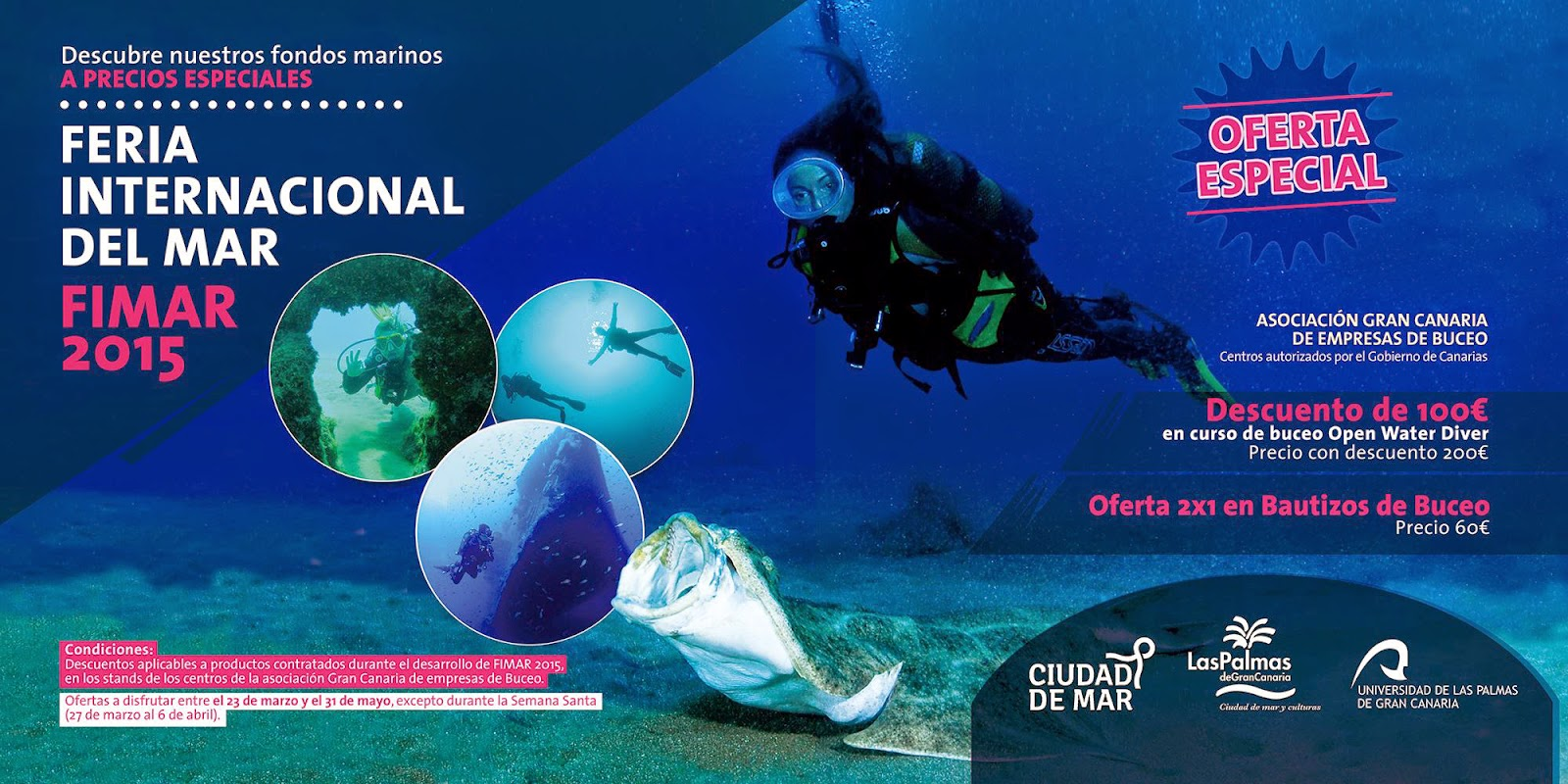programa Fimar Feria Internacional del Mar 2015 las palmas