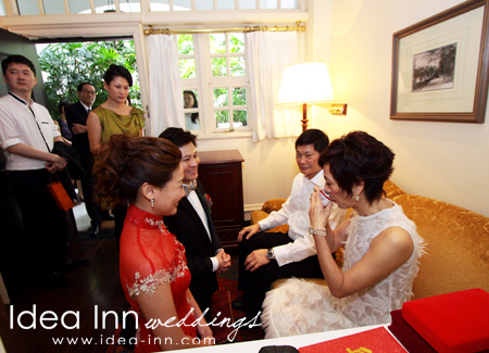 RafflesSingaporeWedding-tea ceremony