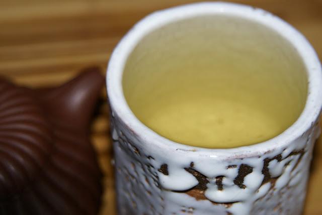 thé jaune