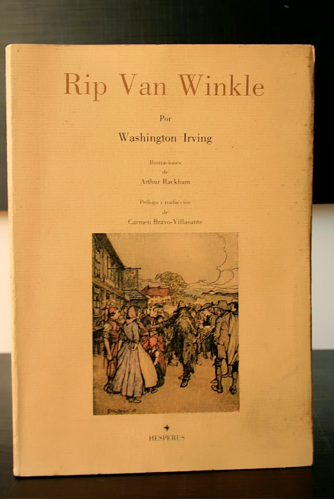 washington irving rip van winkle essays