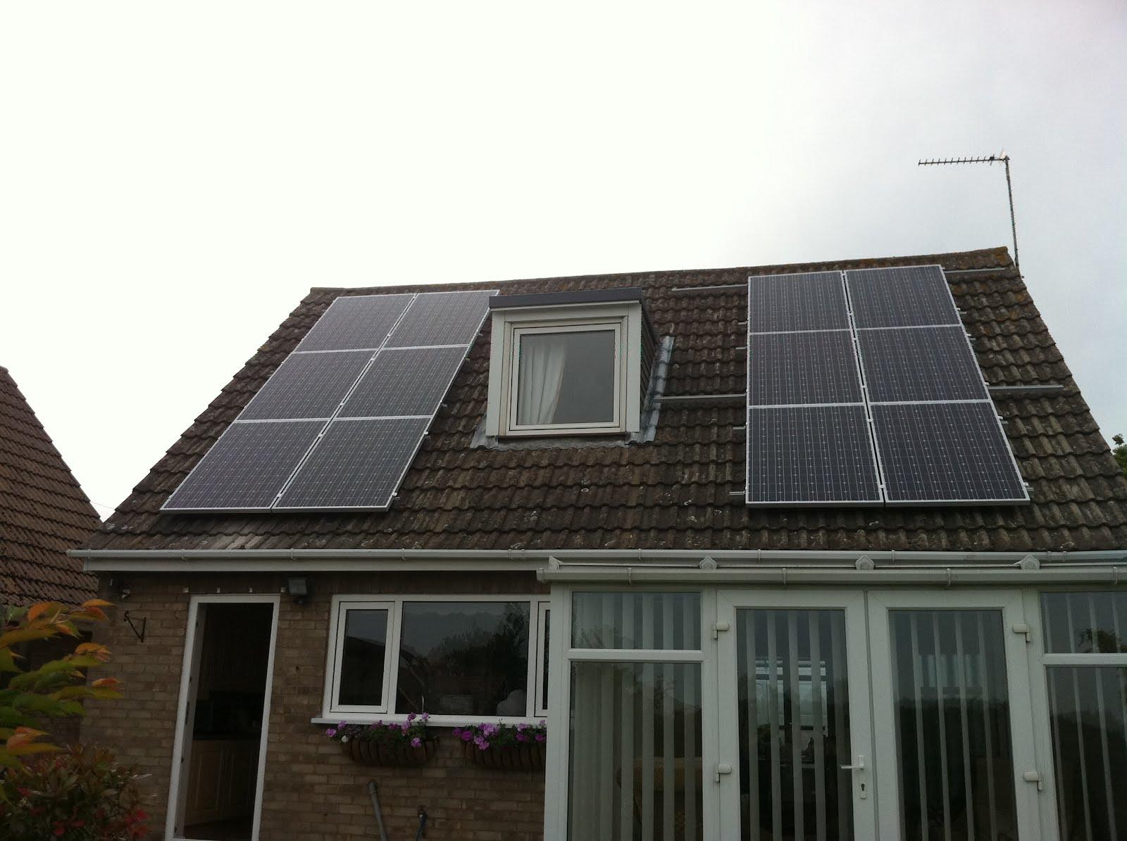3 kWp Solar Panel installation using 12x HJ Solar 250 ...