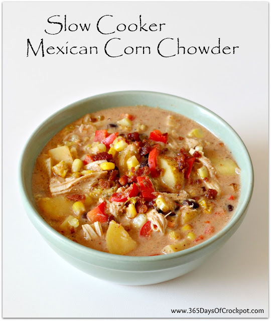 365 Days of Slow Cooking: Crockpot Mexican Corn Chowder