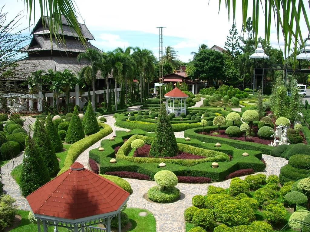 حديقة نونج نوش الاستوائية في بتايا