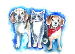 Custom Pet Portraits to Order