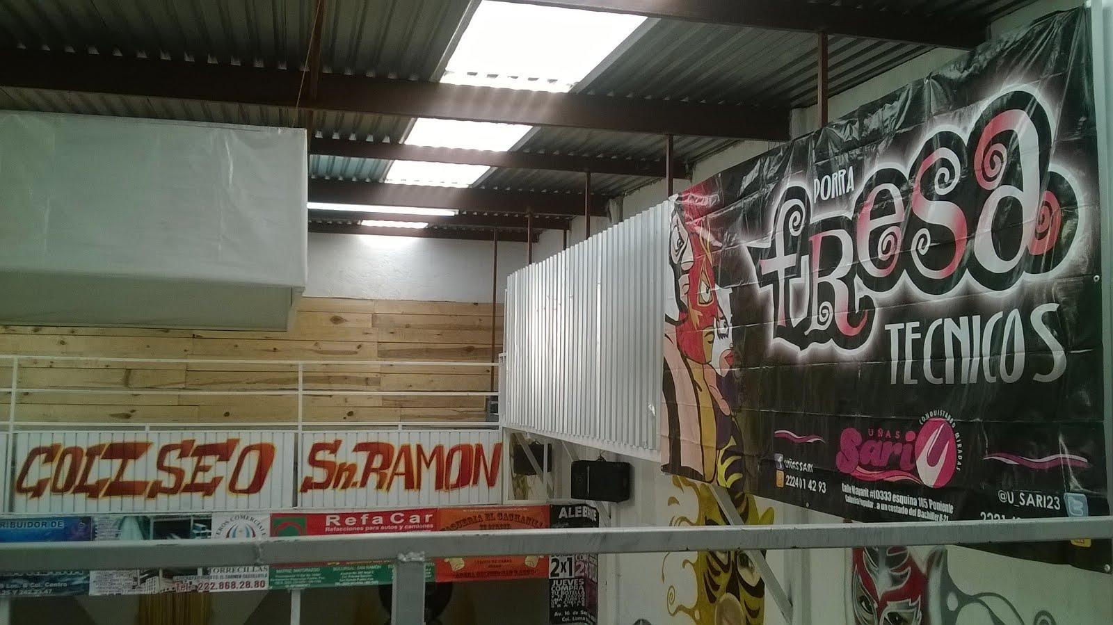 2 años de la Arena Coliseo San Ramon