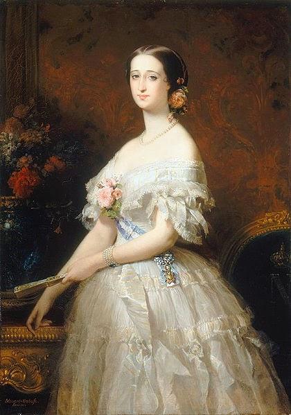 Imperatrice Eugenia, 1854