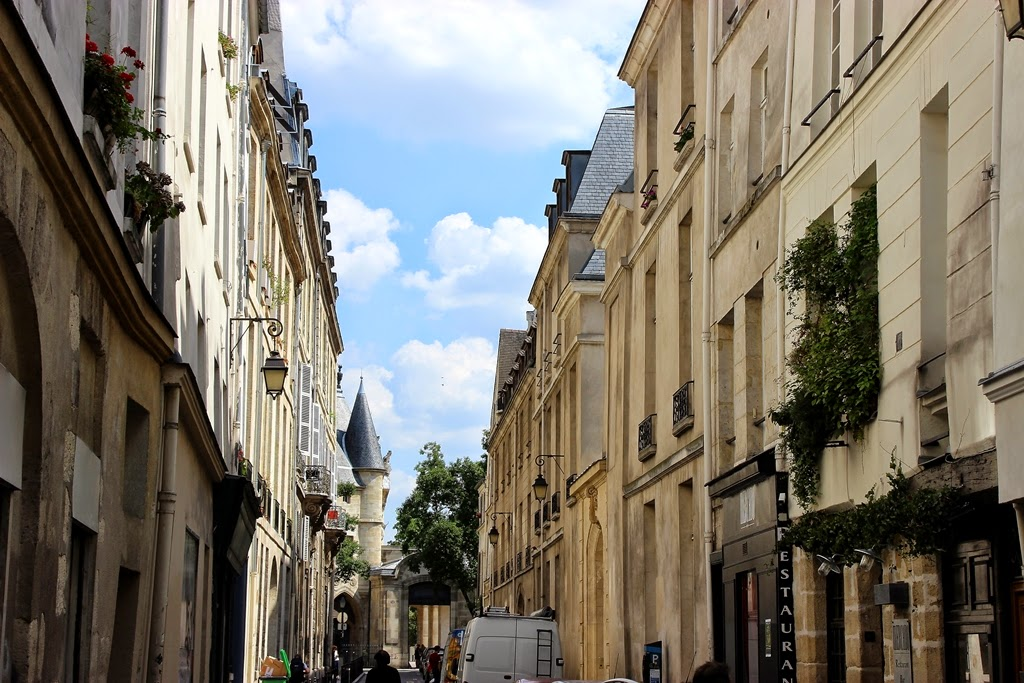 Paris Marais district