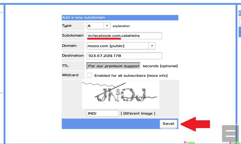 Cara Membuat IP Host Menjadi Domain Gratis Di Freedns