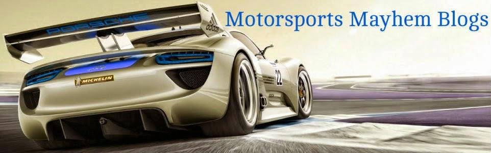 Motorsports Mayhem Blogs Home