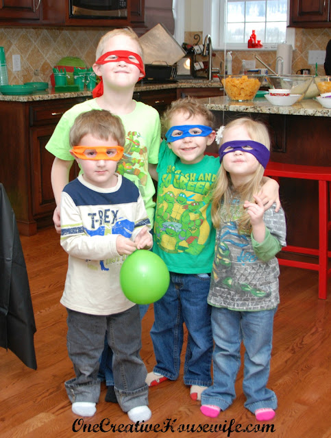 my son's Teenage Mutant Ninja Turtle party, check out these posts