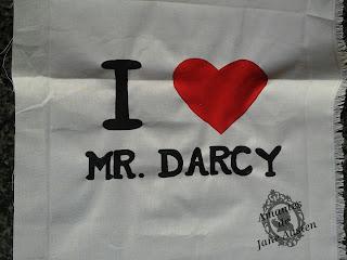 Bolsa I Heart/Love Mr. Darcy