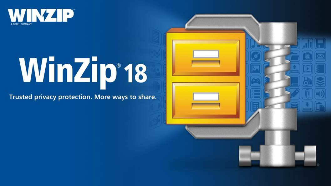 WinZip 18.5 Activation Code + Serial Key for Free Main Screen