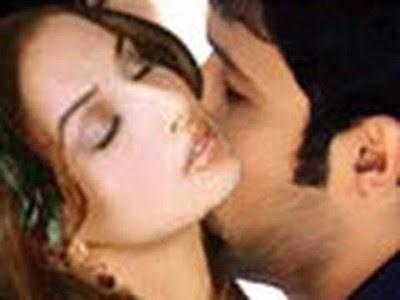 Vidya Balan Hot Kiss