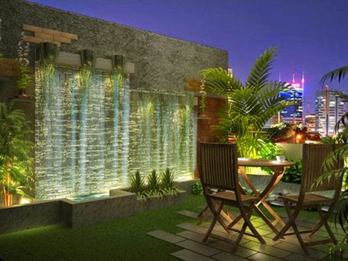 light wall in the garden | Manufacturers Outdoor Furniture