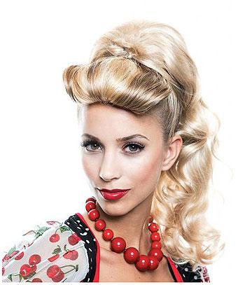 Hair Makeup 1950s 50s Greaser James Dean Pin Up Pinup Bella