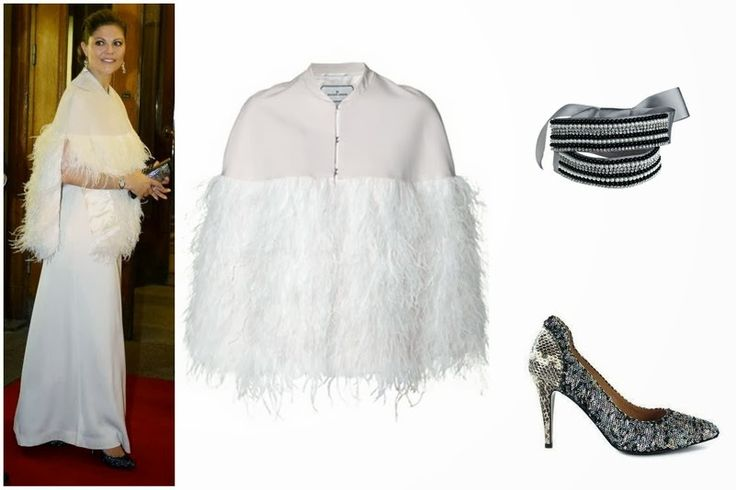 Crown Princess Victoria's By Malene Birger Coat,Shoes and Belt