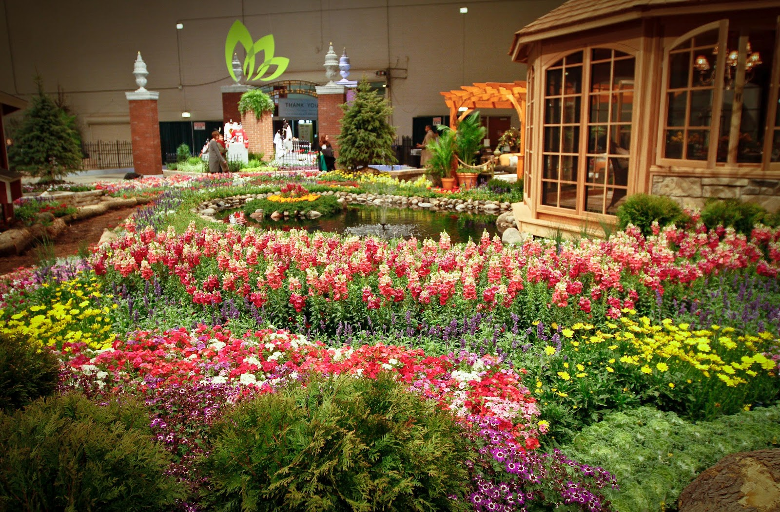 Family time magazine february 2012 for Chicago flower and garden show