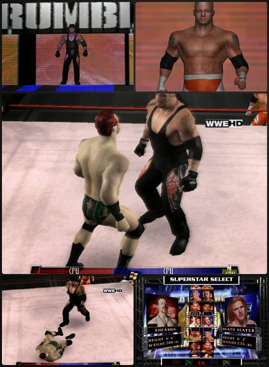 WWE Fighting Game