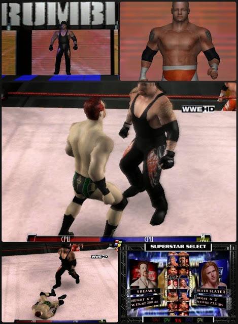 WWE Fighting Game