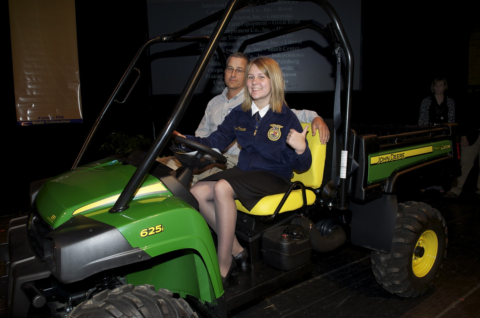 86th Kansas Ffa Convention News John Deere Gator Winner