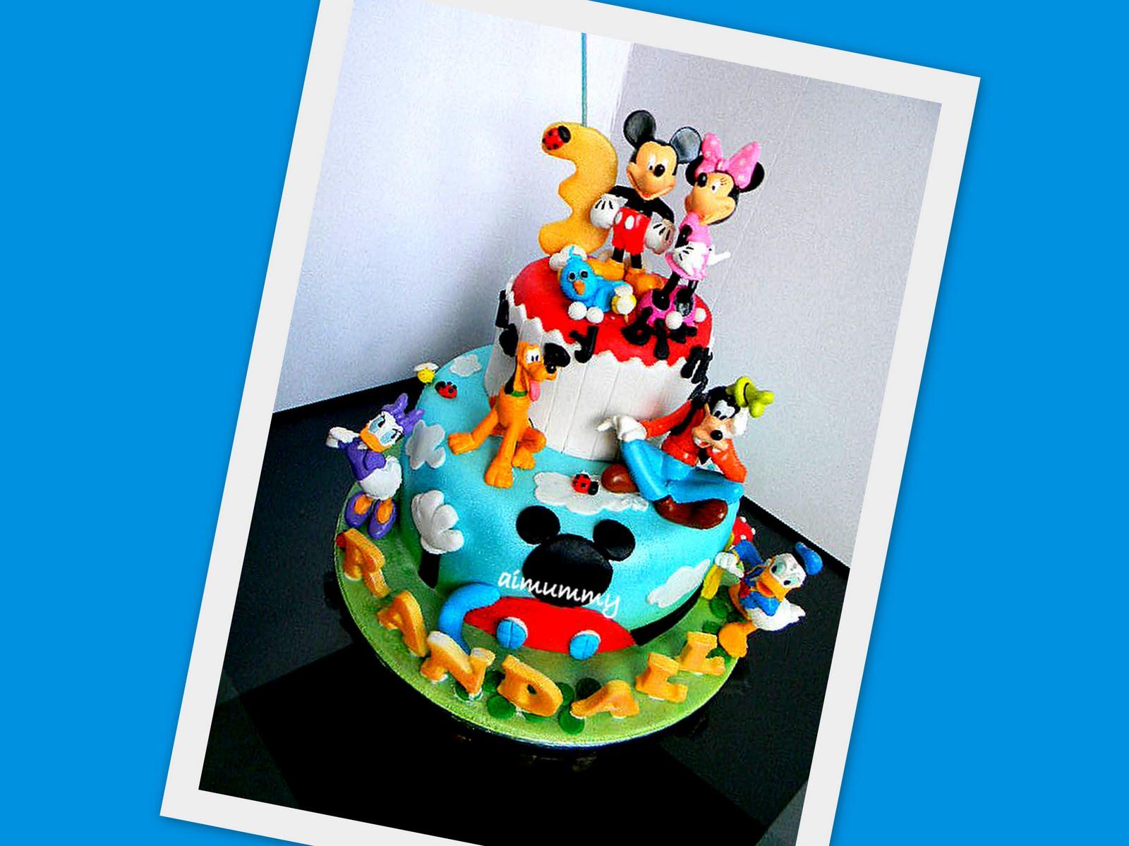 Goldilocks Birthday Cake For Baby Boy