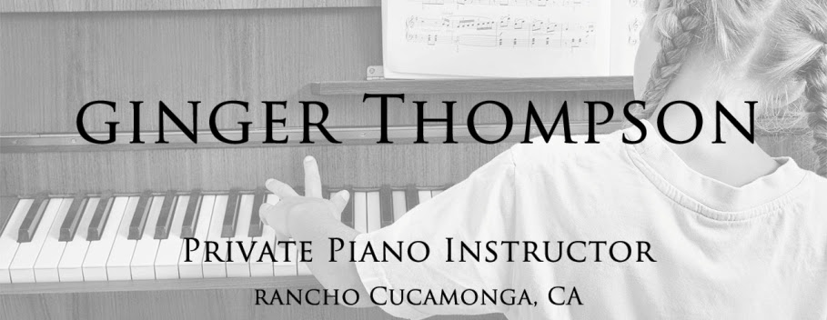 Ginger Thompson Piano Teacher