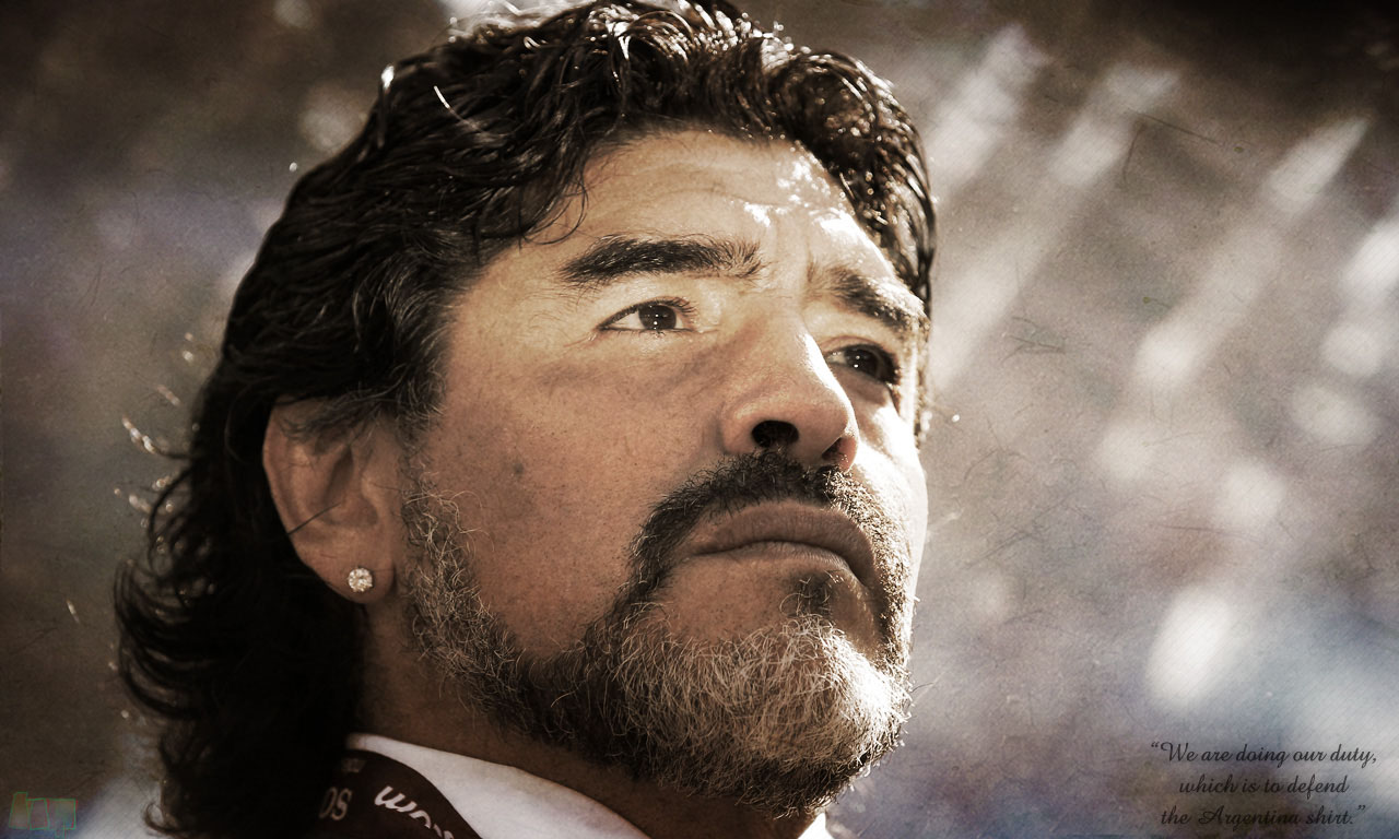 Maradona Wallpapers - Wallpaper Cave