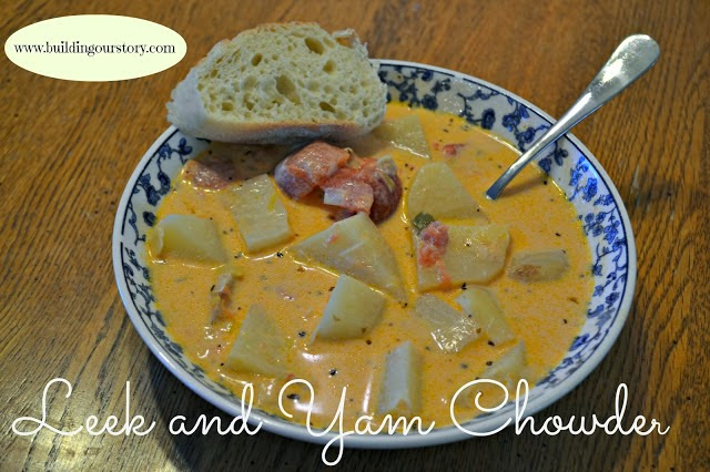 Leek and Yam Chowder Recipe