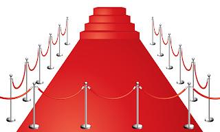 美しいレッドカーペット beautiful red carpet vector イラスト素材
