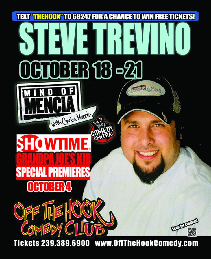 Steve trevino tour dates
