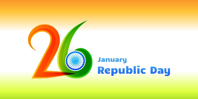 Best republic day 26 january 2019 gif images wishes sms quotes republic day images 2018 m4hsunfo