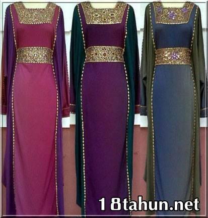 Kumpulan Model Baju Muslim Trend di Hari Raya 2013