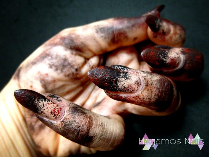 Zombie Halloween Hand