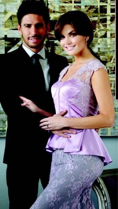 Marisol González y Rafael Márquez Lugo embarazados