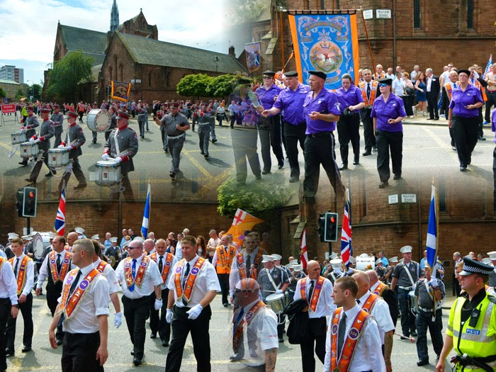 Orangemen, Sectarianism in Glasgow, Scotland religious bigotry