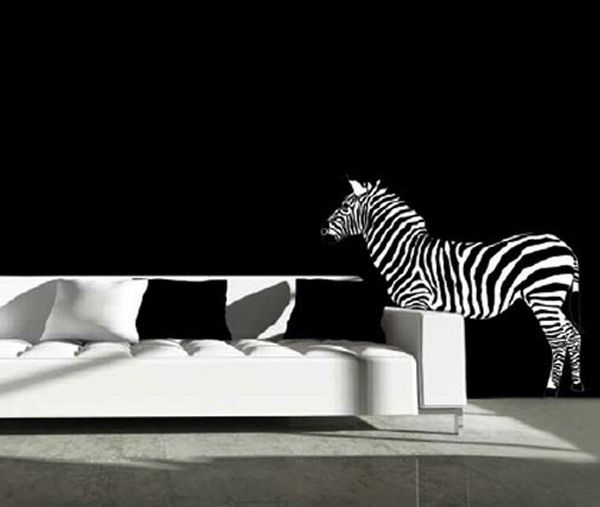 Pictures Gallery Of Black And White Wall Murals