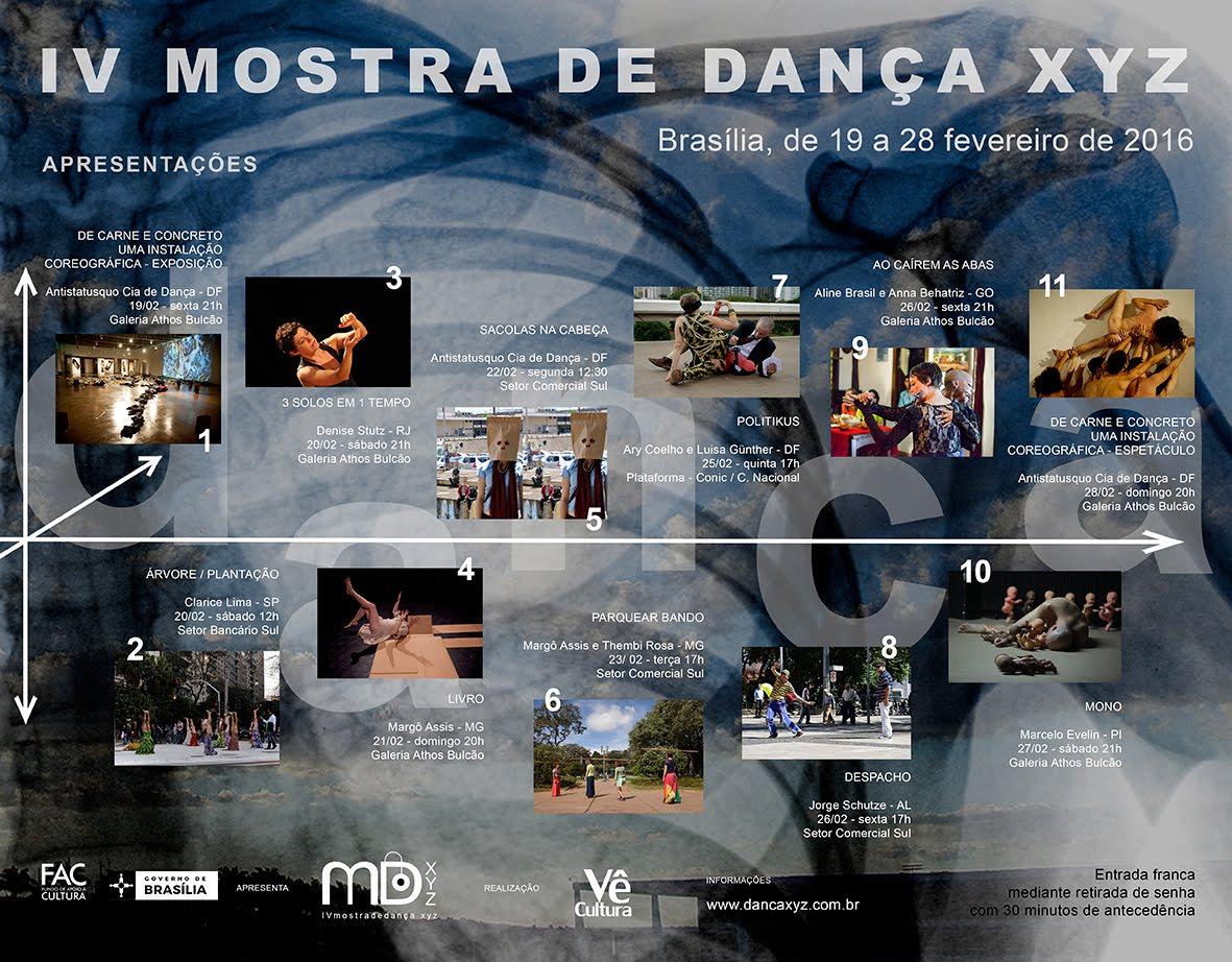 Em fevereiro a Anti Status Quo participou da IV Mostra de Dança XYZ