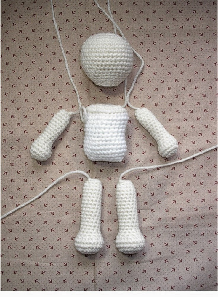 Basic Amigurumi Doll Pattern : basic amigurumi doll pattern :) Grandma! What is amigurumi?