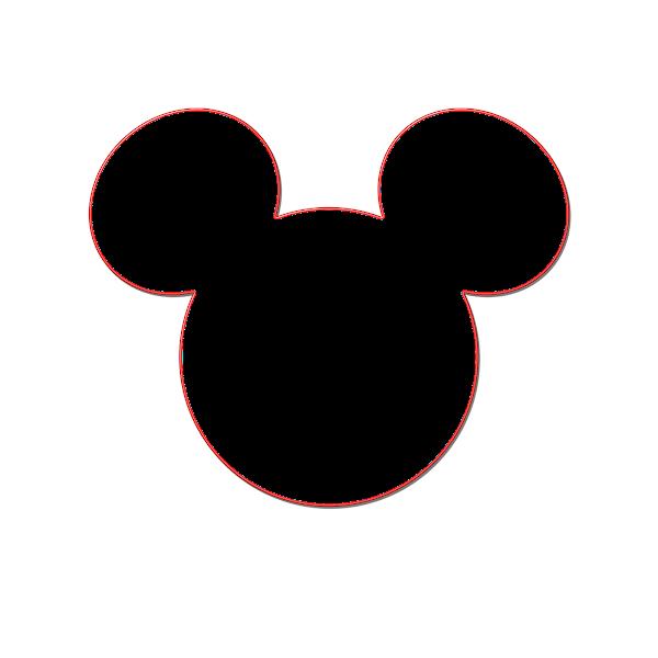 Head Mickey Mouse Ears Template Printable