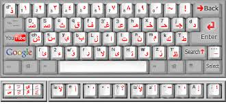 Keyboard Arabic 1 - Ketik Bhs Arab