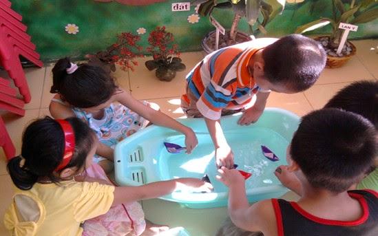 Giáo dục tài nguyên môi trường biển, hải đảo cho trẻ 5 tuổi