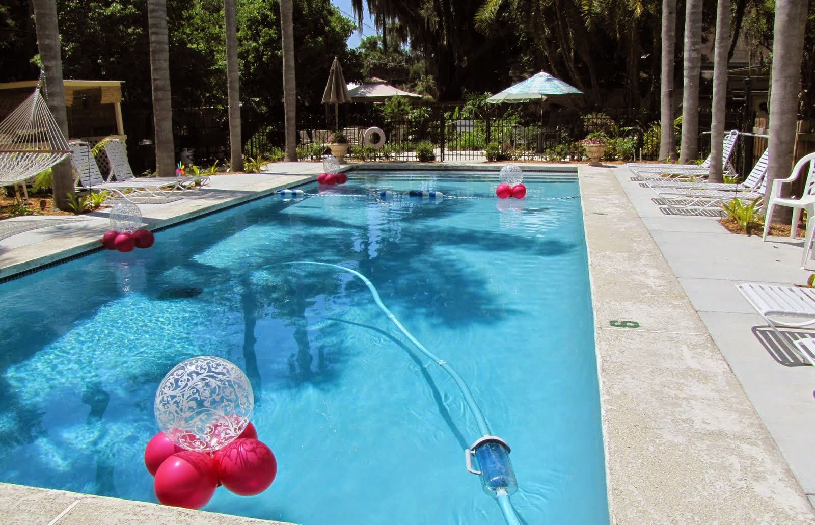 Pool Decorations Celebration