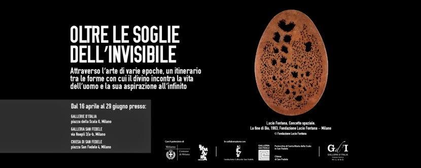 Lucio fontana: opere in mostra in Gallerie d'Italia a Milano