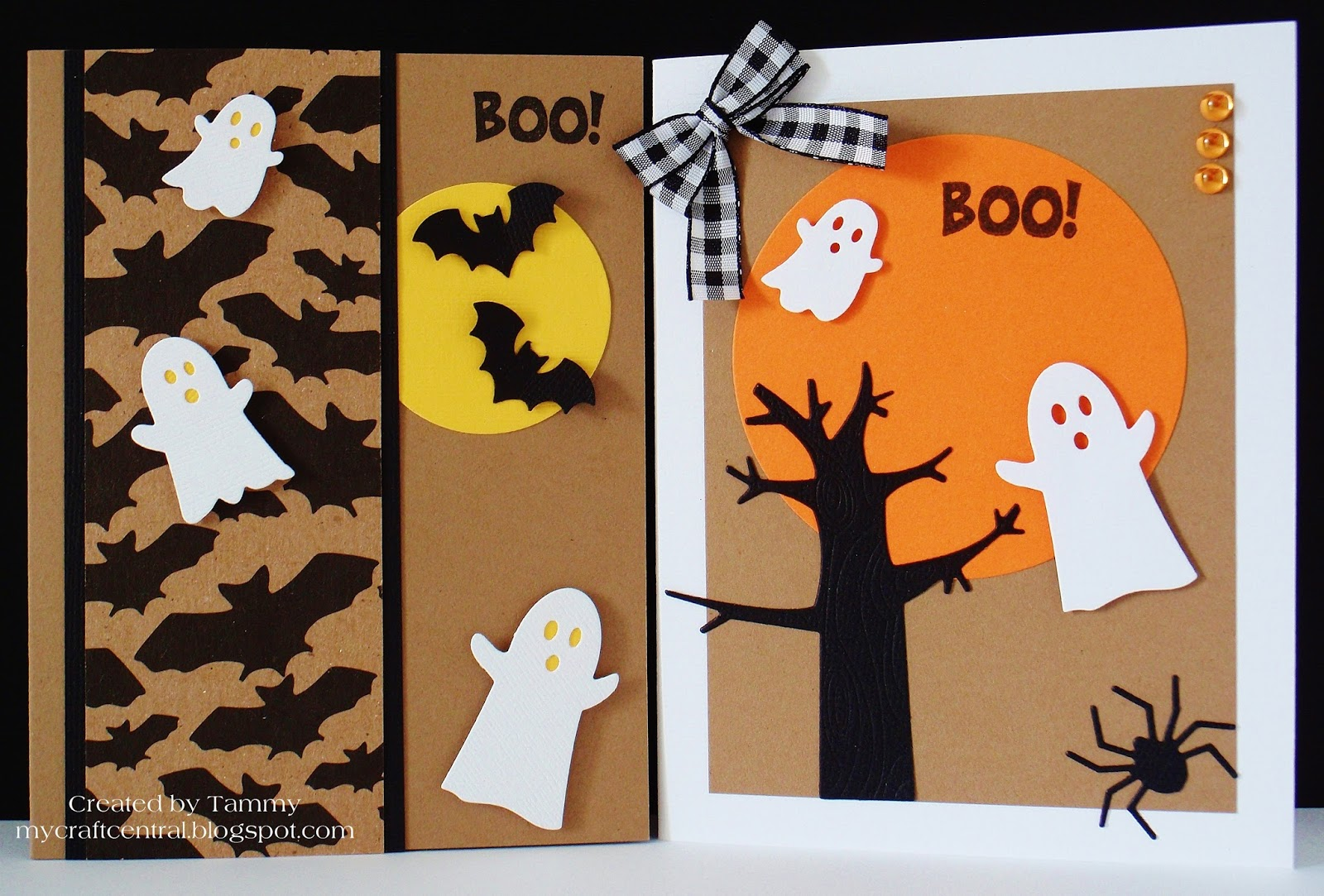 My Craft Central: Halloween cards for OWH