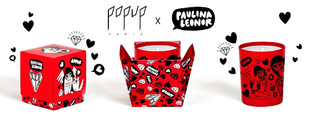 10 bougies des amoureux - Popup Paris x Paulina Léonor