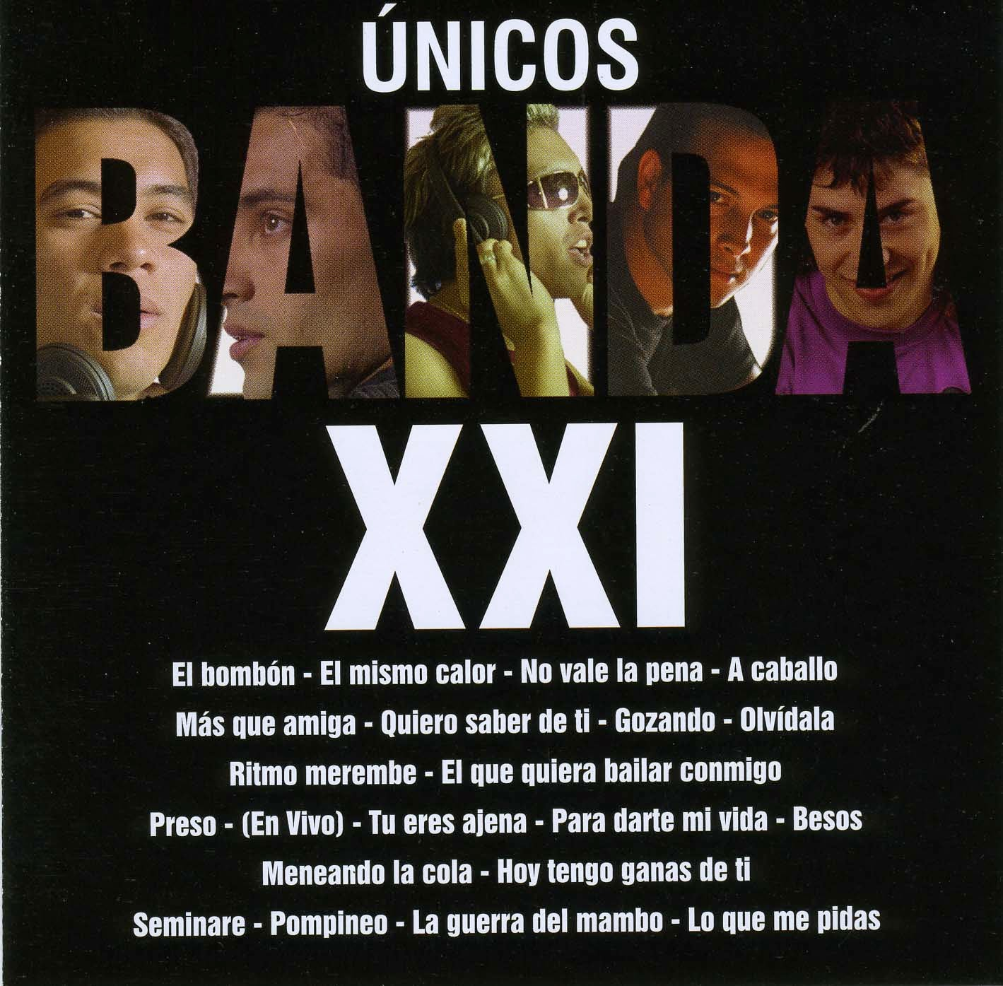 Banda XXI - Unicos (2013)