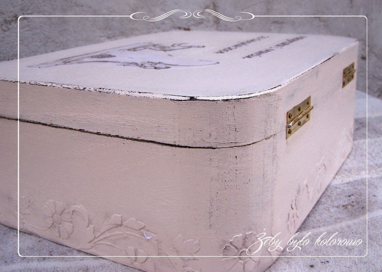 Shabby chic box